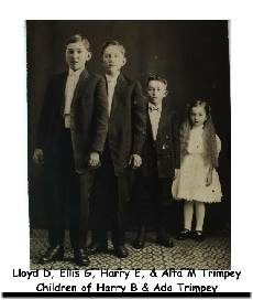 Family of Harry B and Ada Trimpey